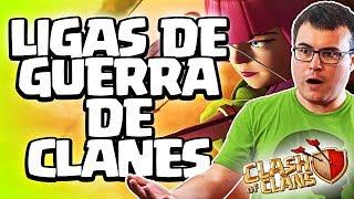 ME VOY UN RATO Y METEN LIGAS DE GUERRAS DE CLANES | Clash of Clans