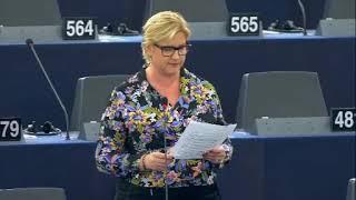 Karin Karlsbro 24 Oct 2019 plenary speech on LGBTI in Uganda