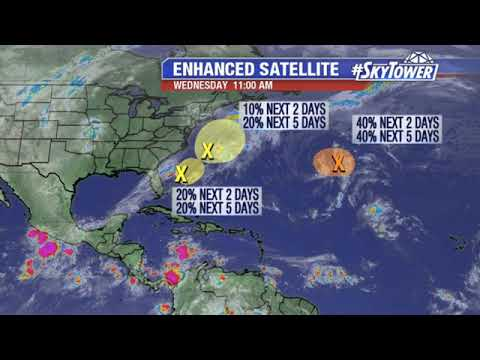 Tropical weather forecast: Oct. 9, 2019