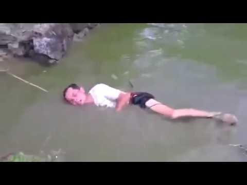 Когда решил половить рыбу электроудочкой