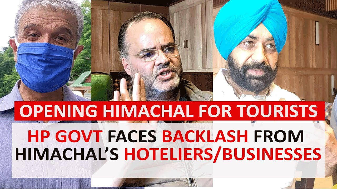 Himachal Pradesh: Hoteliers & Businessmen Unite Against HP Govt Over Opening State for Tourists