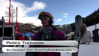 2014 Scott Jib Ski Test with Parks Thomson