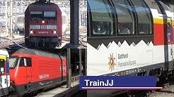 Basel SBB | EC Hamburg - Zurich Hb | DB Br101 - SBB Re 460 - Gotthard Panorama Express | Swiss Train