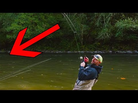 Bobber Down Coho Salmon Fishing MADNESS!!