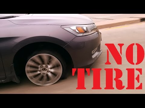 woman-drives-without-front-tire-highway-fail