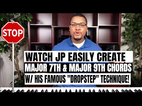 Easy Way To Create Major 7th and Major 9th Chords (