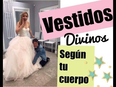 ¿Qué vestido te va mejor según tu cuerpo? + vestidos de novia - #mafconsejos