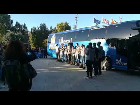 Homenaje de Burgos a los campeones