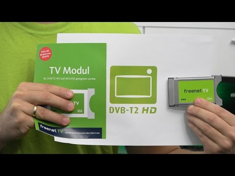 Dvb T2 Hd Karte.Ci Modul Fur Freenet Tv Dvb T2 Hd Private Hd Sender Uber