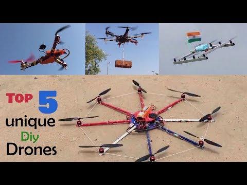 Top 5 Unique Diy Drone compilation | Indian LifeHacker