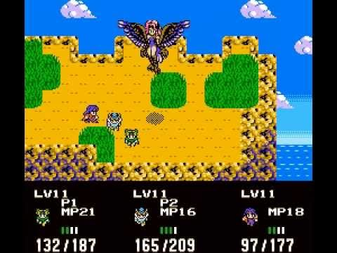 Repeat Rudra no Hihou ~ The Spirit Chaser [NES 2A03