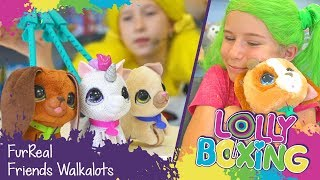 Lollyboxing 25 - FurReal Friends Walkalots