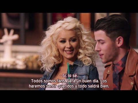 Christina Aguilera & Nick Jonas - Adelanto Batallas: Team Xtina - The Voice 8 (Subtítulos español)