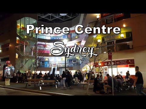 Prince Centre - Outdoor Restaurants - Haymarket Sydney - Australia