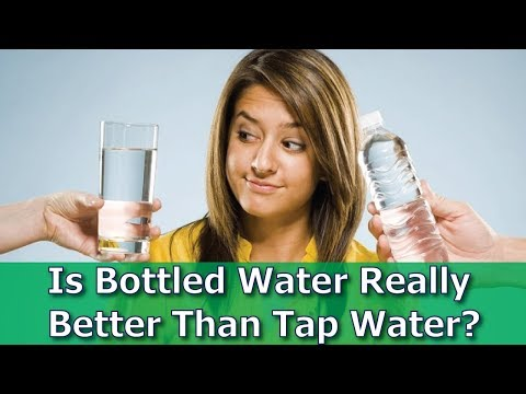 The Truth about Bottled Water Is it really better than tap water?