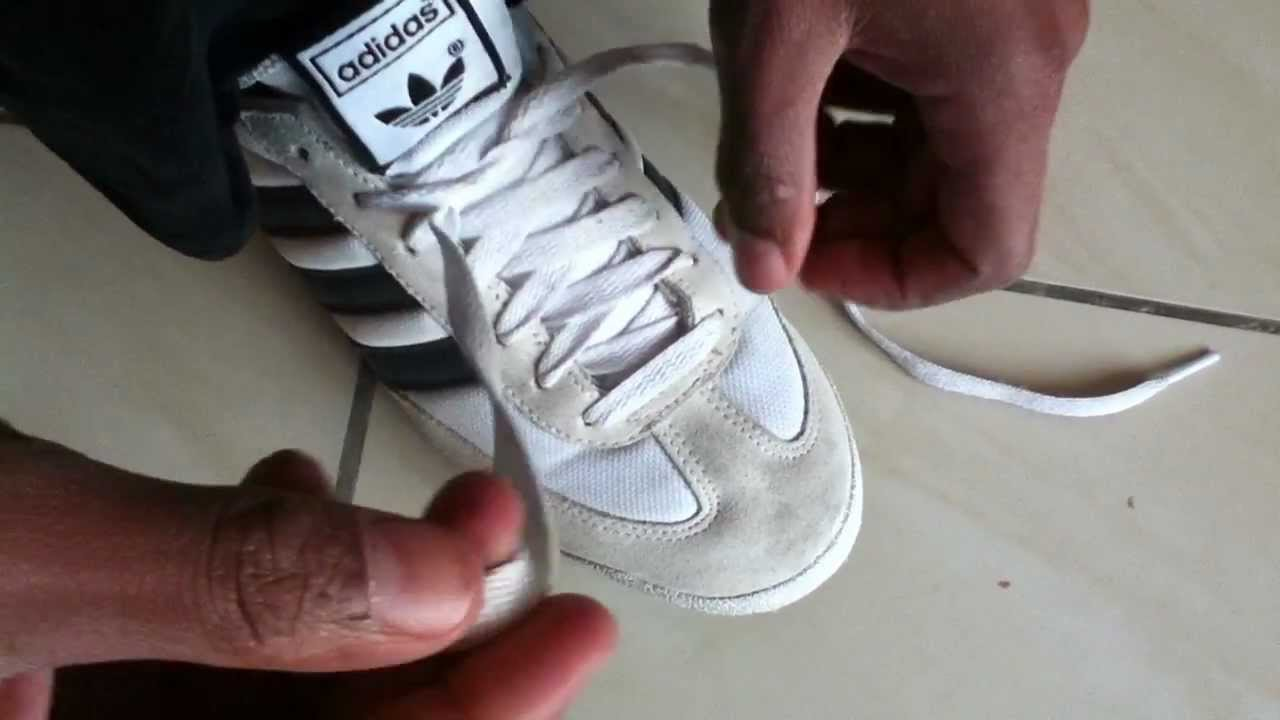 Les Chaussures Lacers De Youtube Nouer 6mb7gvYIfy