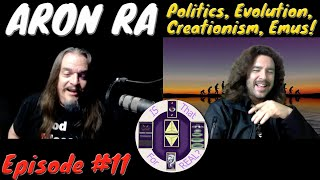 Aron Ra on Politics, Evolution, Creationism and... Emus! - Is That For Real? - EPISODE #11