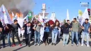 10.10.2015 Турция, Анкара, взрыв. Храбрая молодёжь не испугалась и продолжила танцевать!