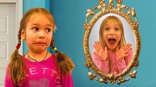 Amelia, Avelina and Akim magical mirror adventure inside a fun indoor playground