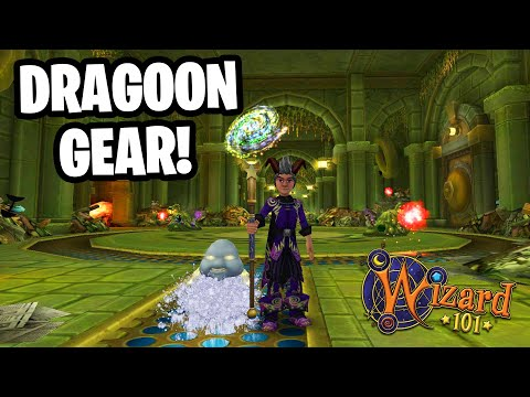 Wizard101: HOW TO GET DRAGOON GEAR!!