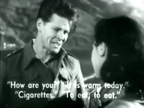 War, POW Escape, Drama Movie - The Last Chance (1945)