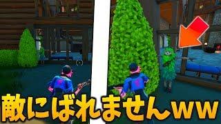 【フォートナイト】最強の木のスキンならその辺に立っていてもばれない説【検証】