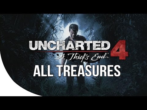 Uncharted 4 - All 109 Treasure Collectibles