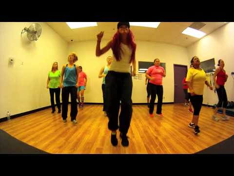 Let the Bodies Hit the Floor - Drowning Pool Zumba with Mallory HotMess
