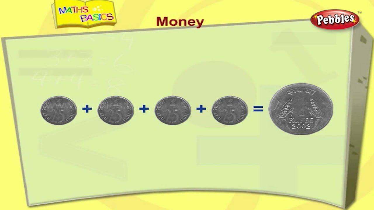 Money | Basic Maths For Children | Maths Basics for Kids | Maths ...