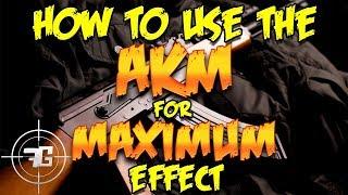 How to Use the AKM for MAXIMUM Effect - Playerunknown's Battlegrounds AKM (PUBG Battlegrounds AKM)