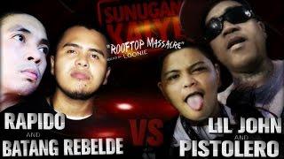 SUNUGAN KALYE - Rapido Batang/Rebelde vs Pistolero/\LiL John