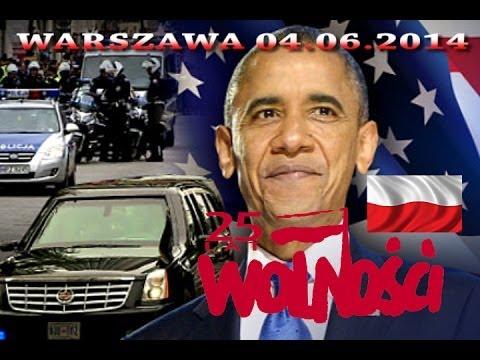 04.06.2014 Prezydent USA Barack Obama w Polsce,rocznica 25 lat Wolności,żołnierze GROM na Wiśle