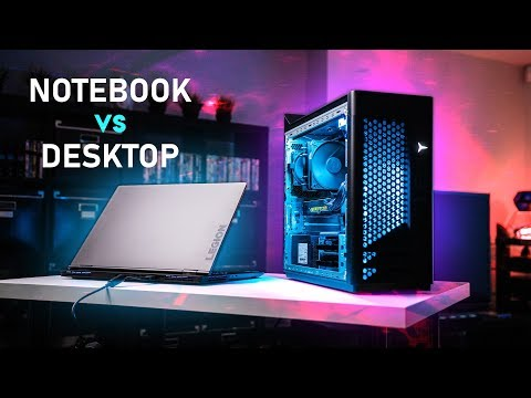 Gaming Notebook vs Prebuilt Desktop - Is There A WINNER?
