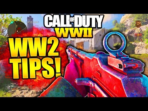 HOW TO GET BETTER AT COD WW2! COD WW2 BEST TIPS & TRICKS COD WW2 HOW TO IMPROVE AT WORLD WAR 2!