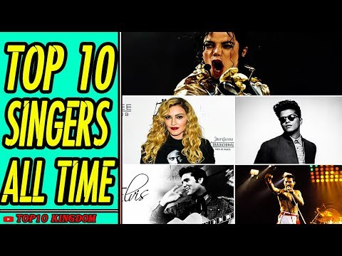 TOP 10 Singers in Music History