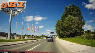 Objíždíme Slovinskou dálnici léto 2018