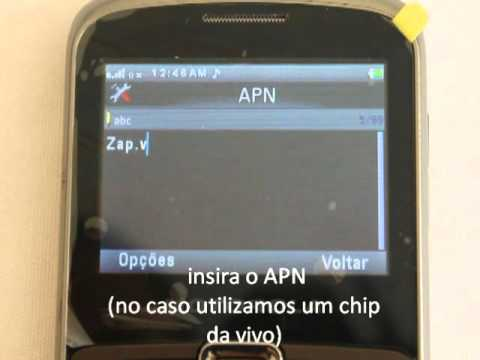 Motorola EX115 como configurar APN