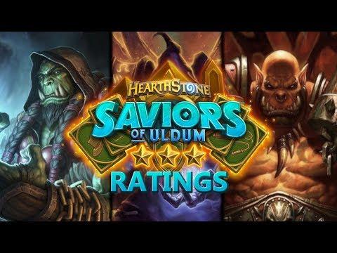 Trump's Saviors of Uldum ⭐ Ratings: Shaman / Warlock / Warrior | Hearthstone