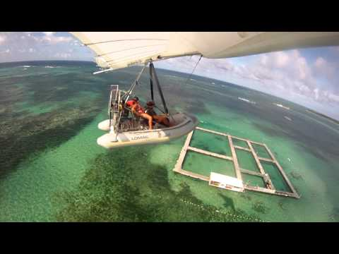 flying boat -airplane punta cana dominican republic