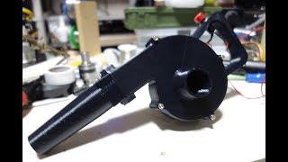 3Dプリンタでミニブロワ作ってみた Homemade Air Blower