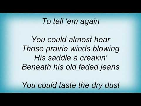 Garth Brooks - Cowboy Bill Lyrics