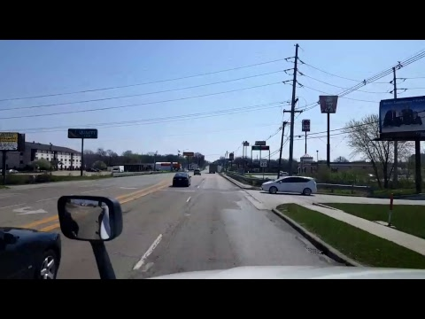 Bigrigtravels Live! - Belvidere, Illinois to Bloomington - Interstate 39 - April 15, 2017