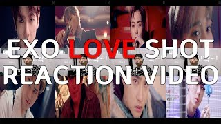 [K-POP] 엑소EXO 러브샷LOVESHOT 역대급 MV 리액션 영상ㅣEXO LOVESHOT reaction videoㅣSM ENTERTAINMENTㅣ현규ㅣ[디모리액션]ㅣ