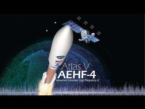 Atlas V AEHF-4 Live Launch Broadcast (Oct. 16/17)