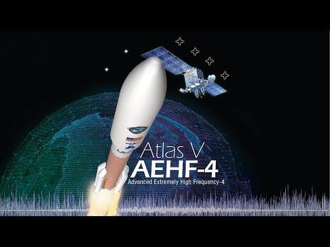 Atlas V AEHF-4 Live Launch Broadcast (Oct. 16/17)