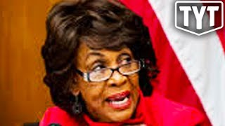 Maxine Waters Sets Sight On Trump Bank