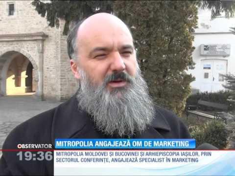 Mitropolia Moldovei şi Bucovinei angajează specialist în marketing