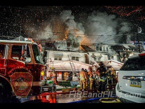 Multiple Houses on Fire - Mount Carmel, PA - 02/01/2018