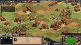 Ohne Rush gegen die Extrem Schwierige KI | Age of Empires 2 Definitive Edition