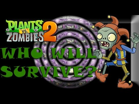 Plants vs Zombies 2 - Who Will Survive the Jester Attack?!?